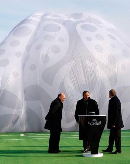 UEFA Euro 2012 logo design