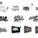 Hello Digital brand identity