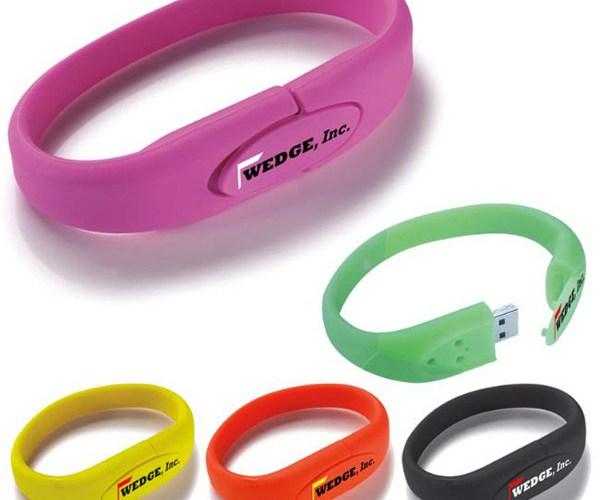 Usb bracelets College visit promotional items