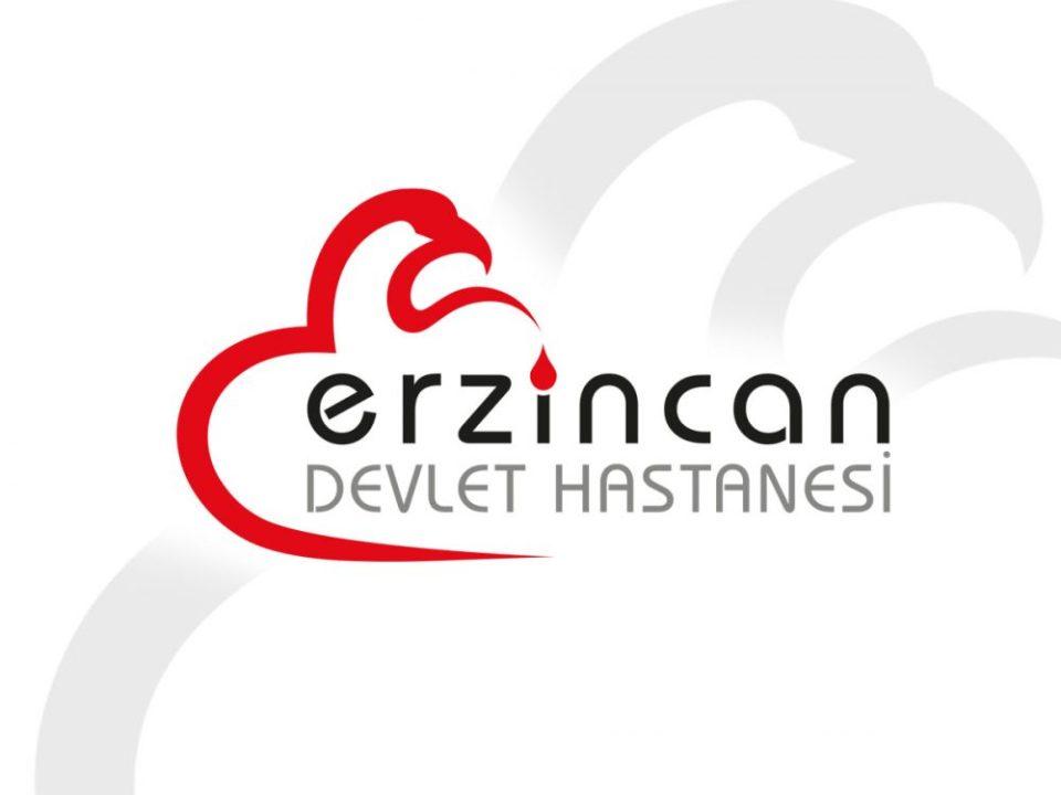 erzincan devlet hastanesi logo ve kurumsal kimlik tasarımı