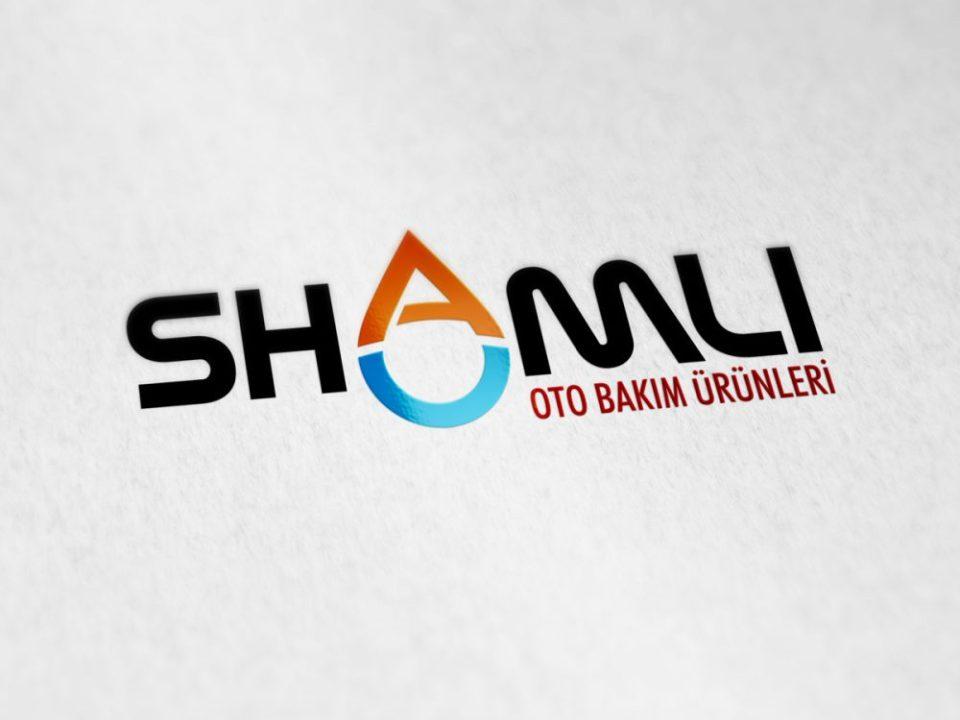 shamli oto köpüğü bakım ürünleri logo tasarımı