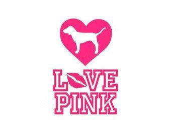 Download Love pink dog Logos