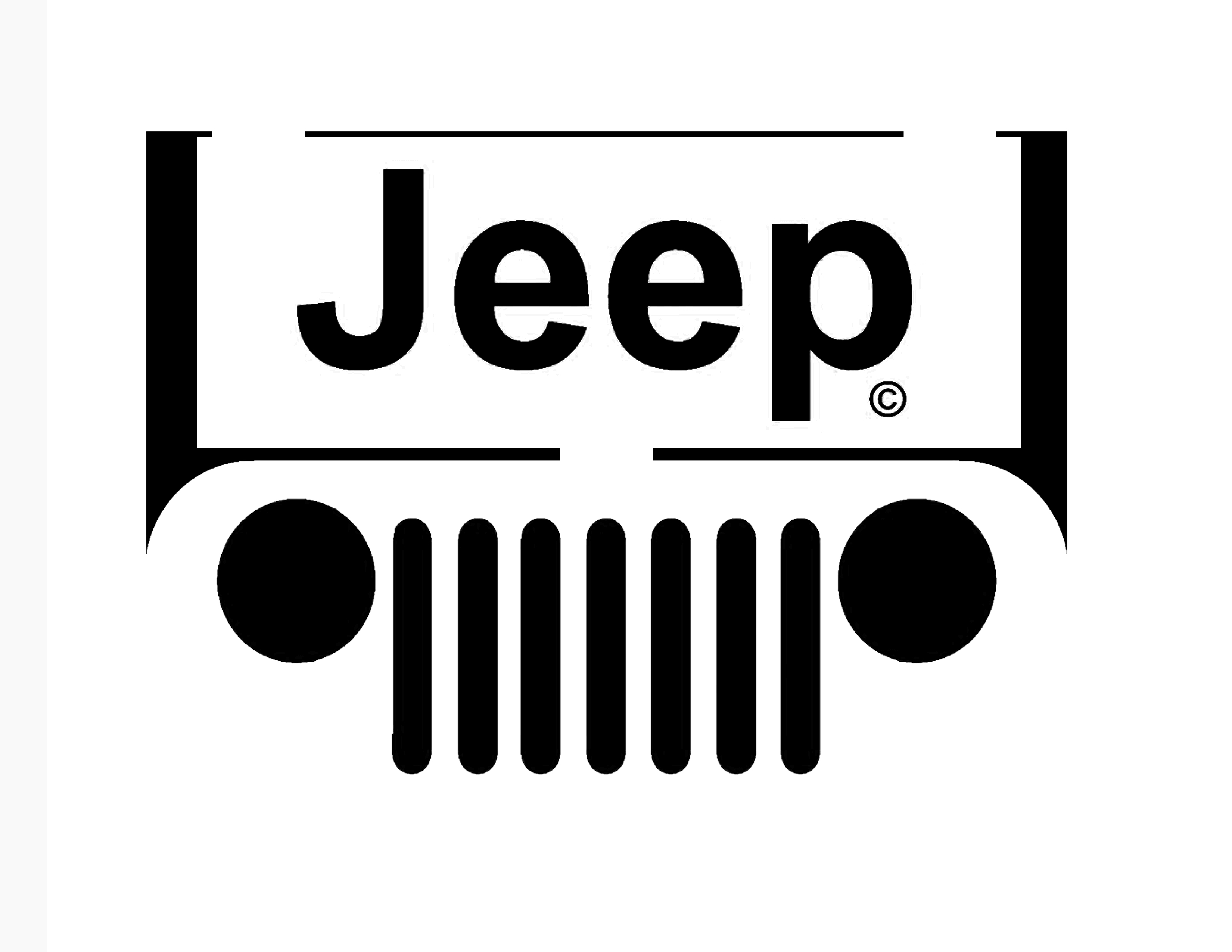 Jeep Grill Logos