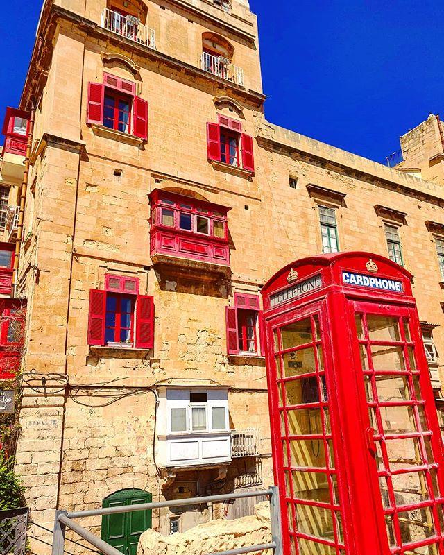 Red call #lavalletta #malta#travel #travelling #toptags #vacation #visiting #traveler #instatravel #instago #wanderlust #trip  #photooftheday #lifeofadventure #doyoutravel #tourism #tourist #instapassport #instatraveling #mytravelgram #travelgram #travelingram #igtravel #instalife #ig_worldphoto #travelstoke #traveling #travelblog #instago