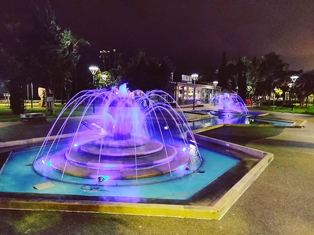 Splashing colors #limassol #cyprus #fontain #light #travel #travelling #toptags #visiting #traveler #instatravel #instago #wanderlust #trip #photooftheday #lifeofadventure #doyoutravel #tourist #instapassport #instatraveling #mytravelgram #travelgram #travelingram #igtravel #instalife #ig_worldphoto #travelstoke #traveling #travelblog #instago