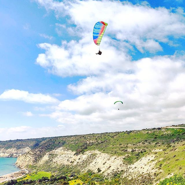Paragliding over the Kurion ruins #cyprus #sky #sea#travel #travelling #toptags #visiting #traveler #instatravel #instago #wanderlust #trip #photooftheday #lifeofadventure #doyoutravel #tourist #instapassport #instatraveling #mytravelgram #travelgram #travelingram #igtravel #instalife #ig_worldphoto #travelstoke #traveling #travelblog #instago