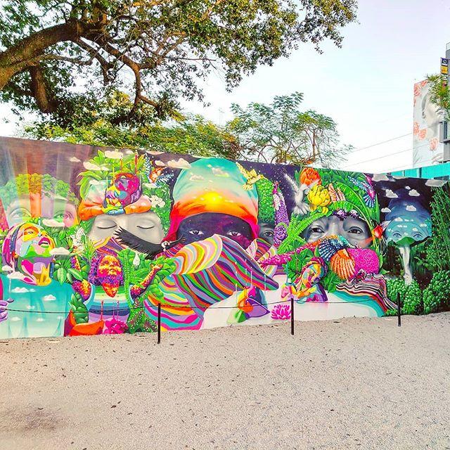 The colors of nature 🌳🤙 #miami #travelingram #streetart #wynwood #wynwoodwalls #miamilife #travel #travelpics #travelblog #traveling #travelphotography #traveller #murales #travellife #travelgram #traveltheworld #streetartphotography #travelawesome #streetartist #travelholic #travelers #travels #travelphoto #miami #travelstoke #travelblogger #traveladdict #traveler #travelling