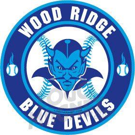 WOOD-RIDGE-BLUE-DEVILS - Logo Magnet