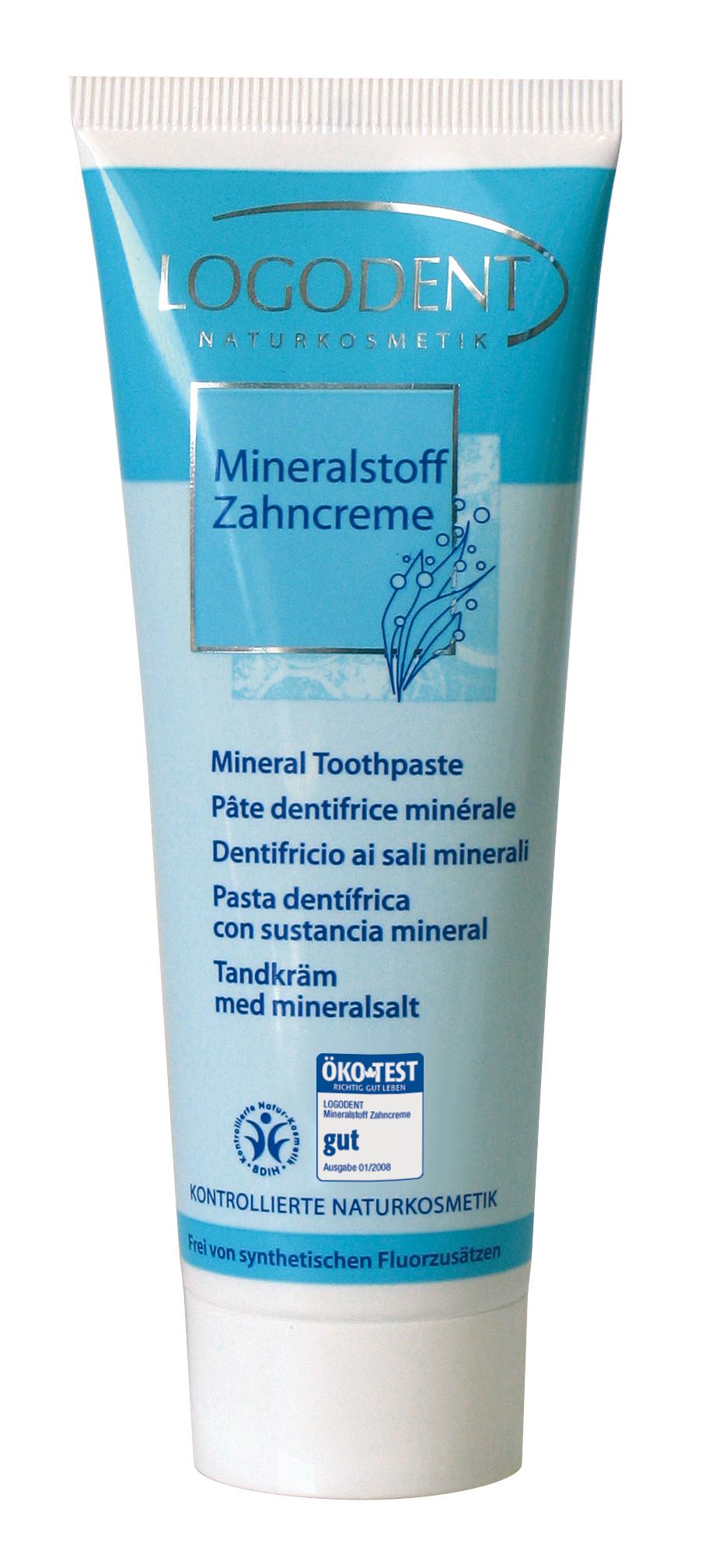 Οδοντόκρεμα με μεταλλικά άλατα