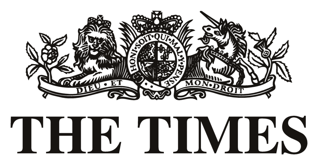 Image result for The times of London logo