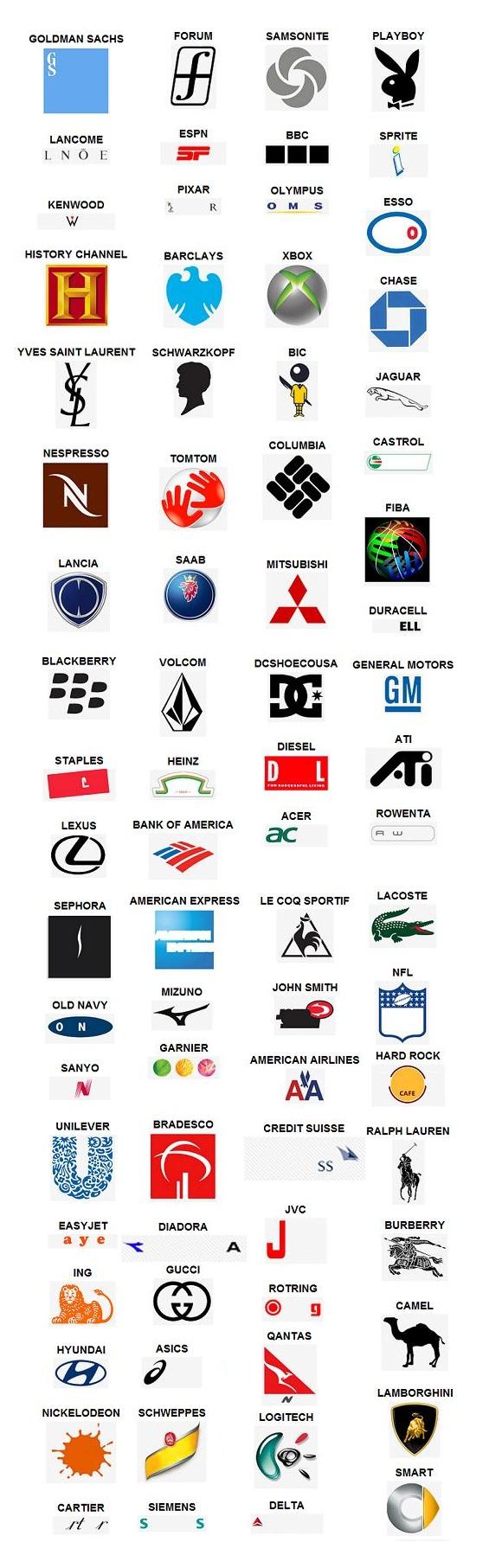 antwoorden logo quiz level 5