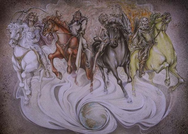Do the Four Horsemen of the Apocalypse Ride Today? — Logos