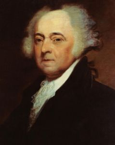 John Adams as the second President of the United States