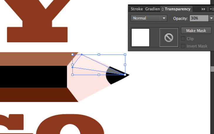 Turn a drawing into vector art reflection