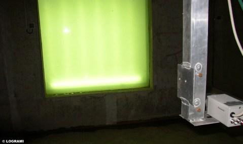 Local de comptage implanté à l'usine hydroélectrique de Langeac