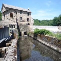 Barrage de la Roche Etrangleloup à Châteauponsac