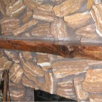 Log Style Fireplace Mantels Hardwood Hartford Wi