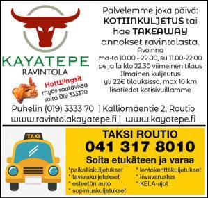 Routiolta ruoat kuljetuksella tai noutona – ravintola Kayatepe
