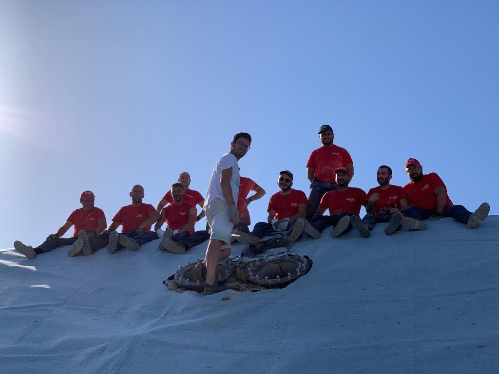 Trattamento acque reflue foto di gruppo loiodice teloni