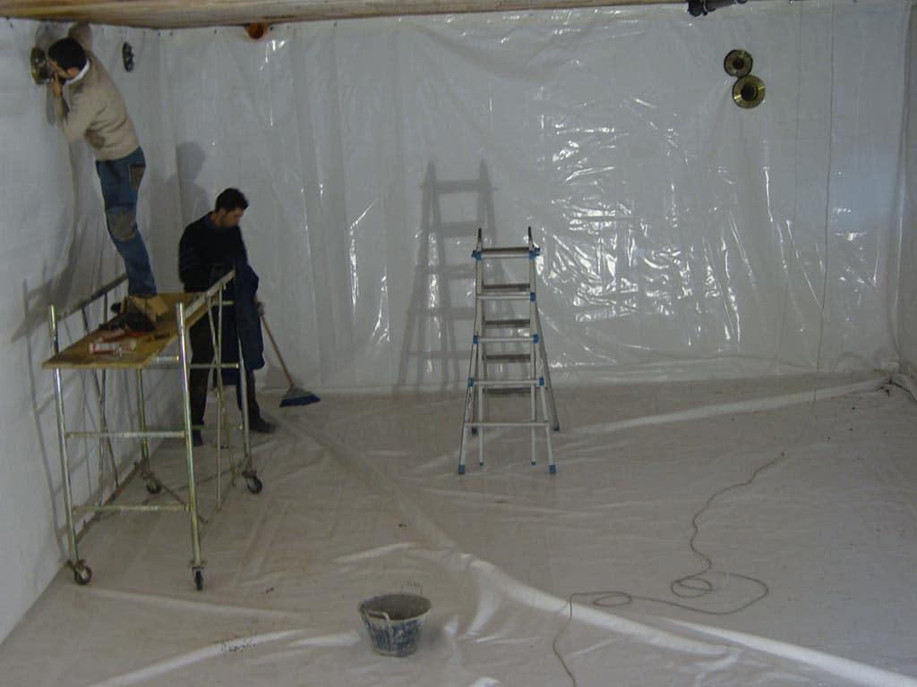 rivestimenti stanze cemento in pvc