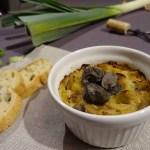 Cassolette fondue de poireaux