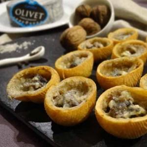 Fromentines au cendré d'Olivet et noix