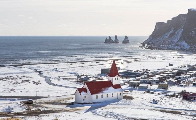 Seaside church