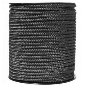 Corde Utilitaire 5mm Noir au mètre