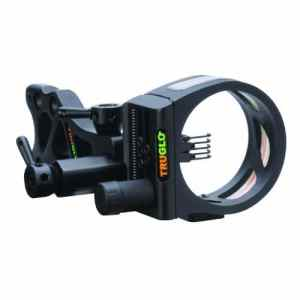 Truglo TSX Pro Series 5-Pin Sight Tool-Less Black by Truglo