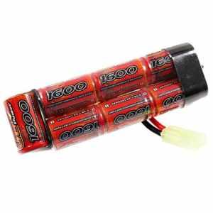 VB Power Batterie pour Airsoft STD 8,4V 1600mAh connecteur G36MP5