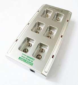 Chargeur de batterie intelligent Ni-MH standard 9V 6-bit MIC pour le jouet de RC Rechargeable WorldShopping4U