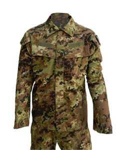 Tenue militaire de combat Ripstop camouflage VEGETATO MIMETICO 42