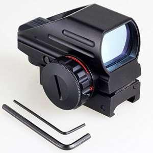 IRON JIA'S holographique Rouge et Green Dot Sight tactique Reflex 4 Different Reticles réticule Picatinny Rail pour Shotgun Fusil Pistol