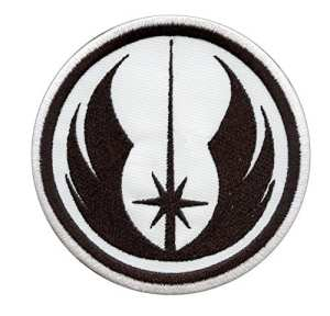 Star Wars Jedi Order Embroidered Sew Thermocollant Écusson Patch