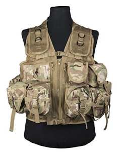 Mil-Tec Ultime Assault Vest Multitarn