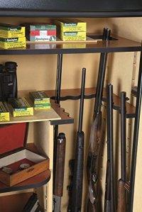 Infac – Coffre fort Infac Wood Cover Safe 24 armes avec lunettes + étagères amovibles [chêne]