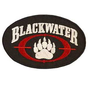 Blackwater Insigne Academi Embroidered Tactical Combat Milspec Sew Thermocollant Écusson Patch