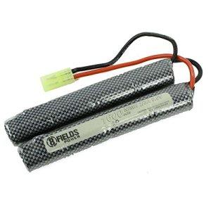 8Fields – Accessoire Airsoft – Batterie Double Baton 9.6 Volt – 1600 Mah