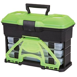 Flambeau T3 Frost Series Mini Front Loader Tackle Box, Green by Flambeau