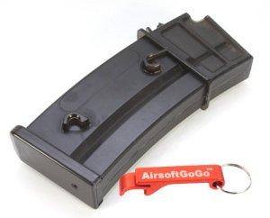 CYMA 130rds Hi-Cap Metal Chargeur pour G36 Series AEG [pour Airsoft uniquement]