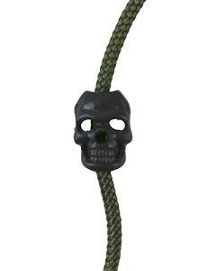 Kombat Tactical Noir Tête de mort Cordon Bouchons Lot de 10