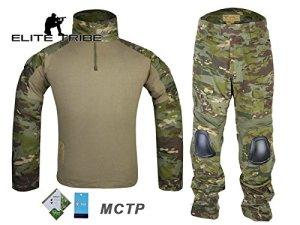 Airsoft Chasse tactique militaire BDU Convient G2de combat uniforme Chemise Pantalon Multicam Tropic