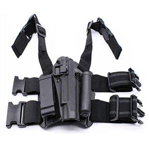 Nouveau 4 en 1 Réglable Ceinture Goutte Jambe tactique Glock 17 Gun Holsters