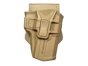 Holster Scorpus M1Coyote ou vert, niveau 2, Fab Defence, holster holster Glock droite, li-polymère, coyote