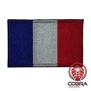 Patch Militaire Écusson Brodé pour airsoft/ Drapeau de la France pour Sac à Dos Tactique Vêtements,…