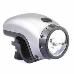 Bheema bicyclette 5 LED faisceau blanc torche avant de support de phare aaa