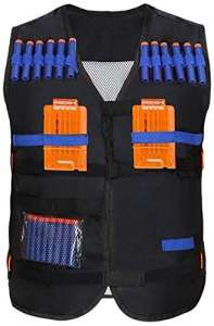 Yosoo enfants Elite Tactical Vest pour Eva Nerf Gun N-STRIKE ELITE Series