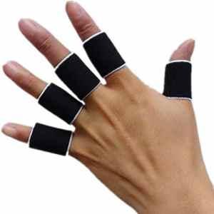 Tonewan Protections Finger Guard Bandes Bandage Soutien Wraps Arthritis Aid Protecteur Manches Droites