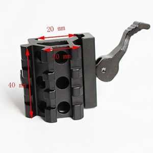 Adaptateur de Montage de Colonne Montante QD à 45 Degrés, Double Extension, 45 Degrés