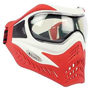 Masque vforce grill reverse rouge blanc